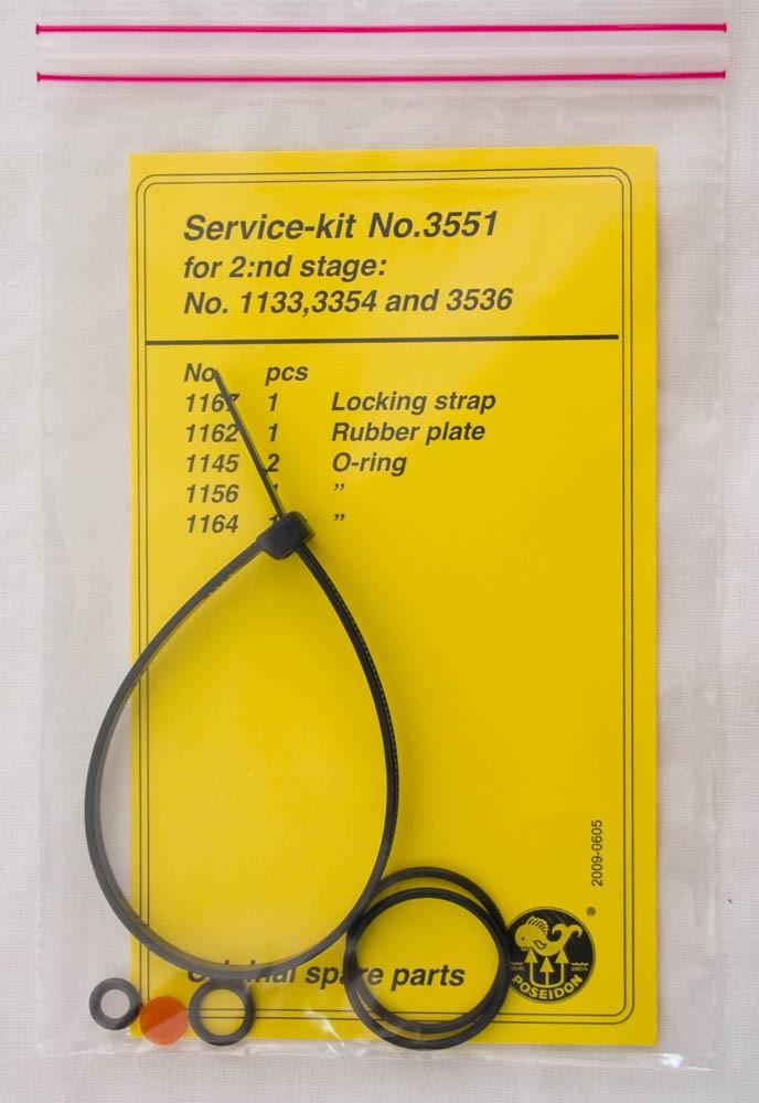 Service Kit für Poseidon Jetstream 2 Stufe spare parts